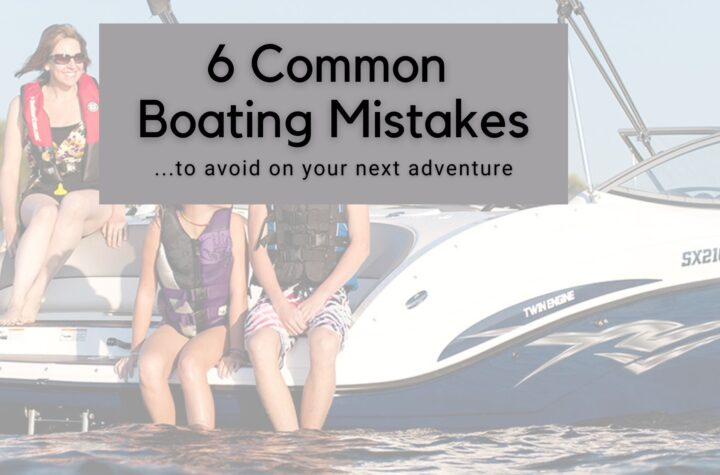 common boat mistakes